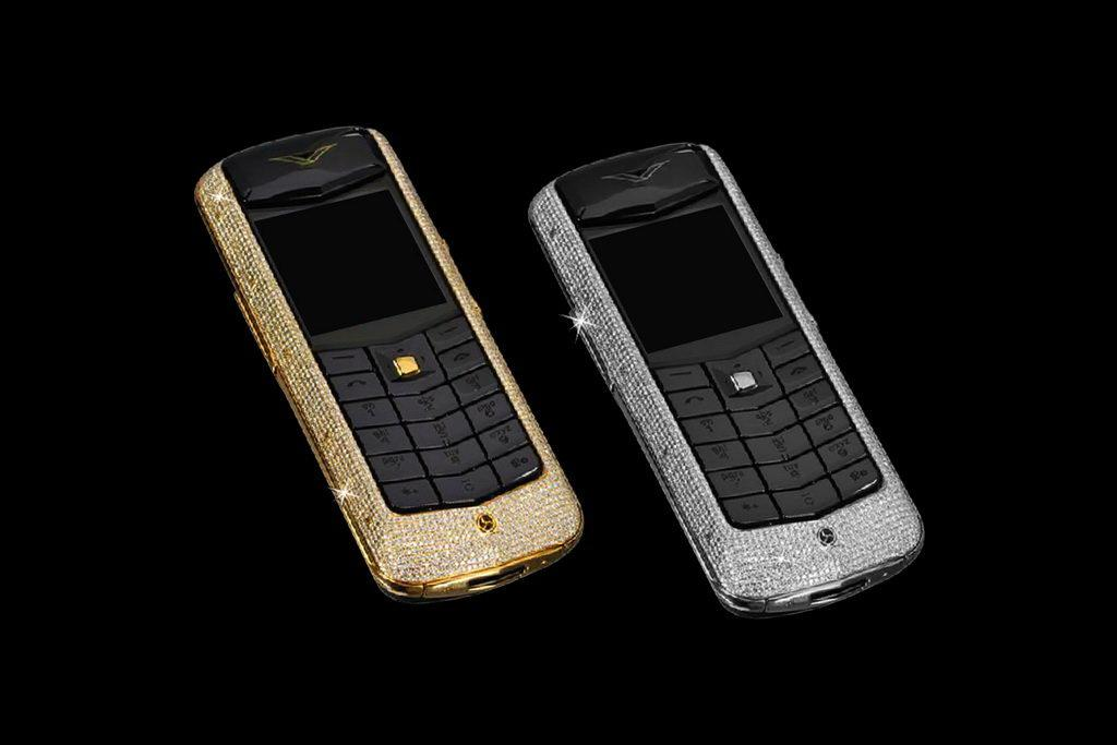 VERTU CONSTELLATION DIAMOND LIMITED EDITION by MJ - Gold (Yellow, Red, Pink, White), Platinum, Palladium, Inlaid Diamonds
